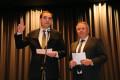 Oberbürgermeister Florian Kling beim Ablegen des Amtseides