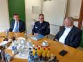 Besprechung zum Thema Ansiedlung der Kriminalpolizei in Calw