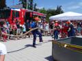 Vorführung des Feuerwehrnachwuchses