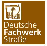 Radwegschild Deutsche Fachwerkstrasse
