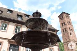 Brunnen_Hirsau_Schalenbrunnen_in_Kloster