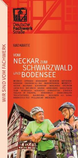 Radkarte Fachwerkstrasse 2015 Titel