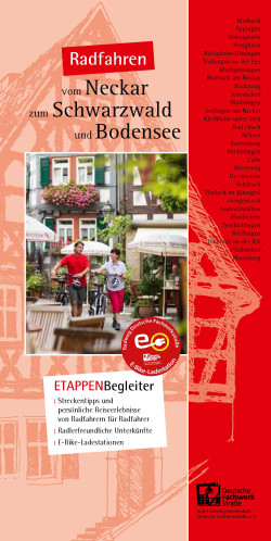 Etappenbegleiter Radweg Deutsche Fachwerkstrasse
