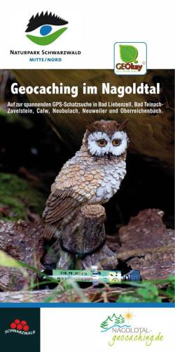 Titel Faltblatt Geoaching