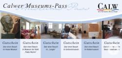 Calwer-Museums-Pass / Quelle: Stadt Calw