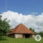 Hugenotten- und Waldenserpfad_Calw-Heumaden_Schafscheuer / Quelle: Stadt Calw