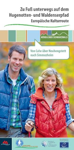 Faltblatt Hugenotten- und Waldenserpfad