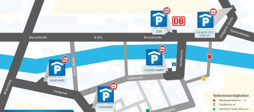 Parkhäuser in Calw