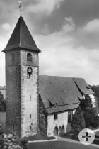 Altburg Kirche um 1930
