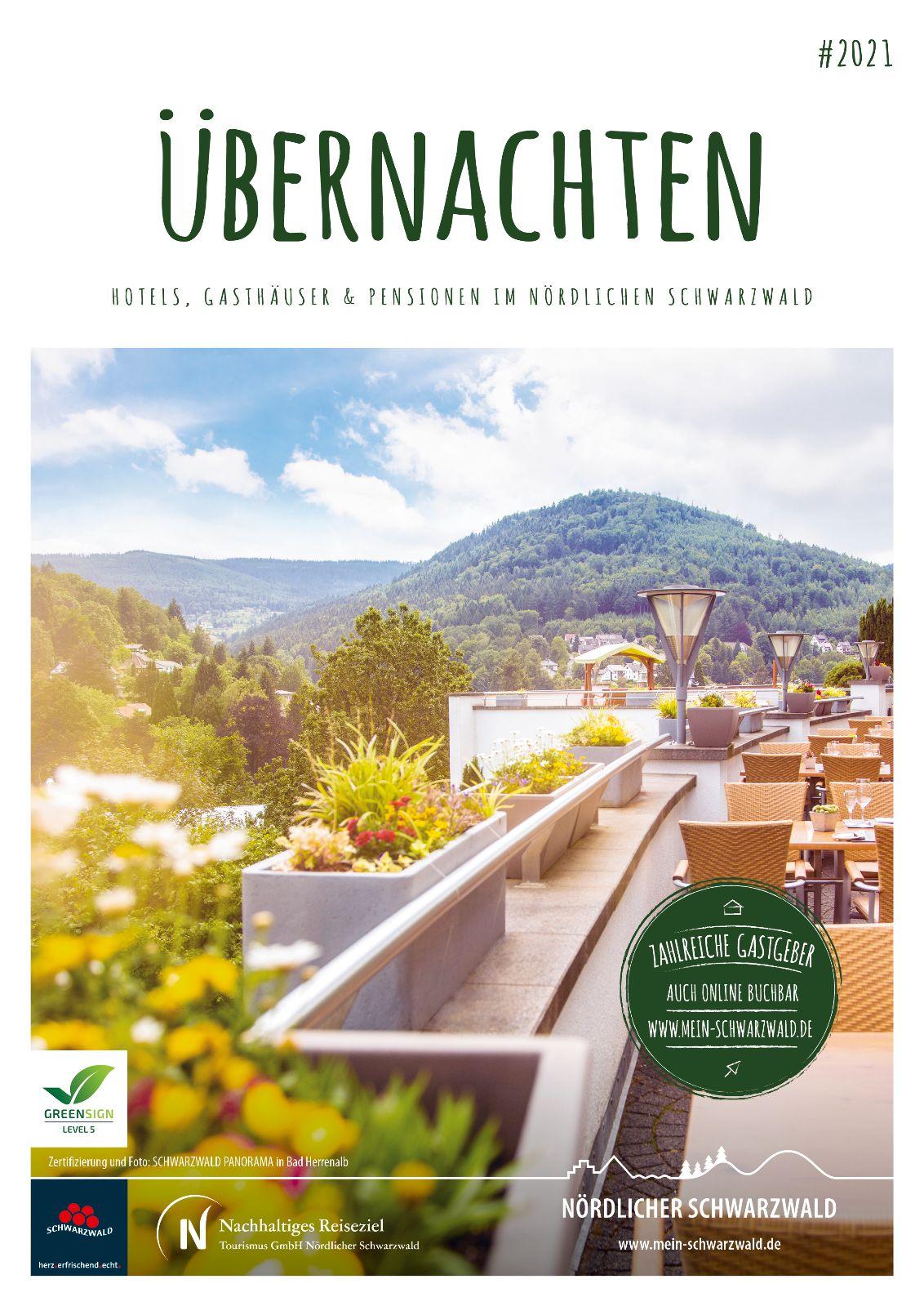 Gastgeberverzeichnis Nördlicher Schwarzwald  - Hotel, Gasthöfe, Pensionen