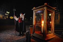 Calwer Nachtwächter mit Laterne / Quelle: Stadt Calw