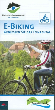 Faltblatt E-Biking Teinachtal