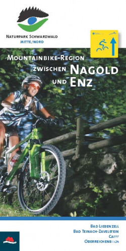 Broschuere Mountainbike NagoldEnz