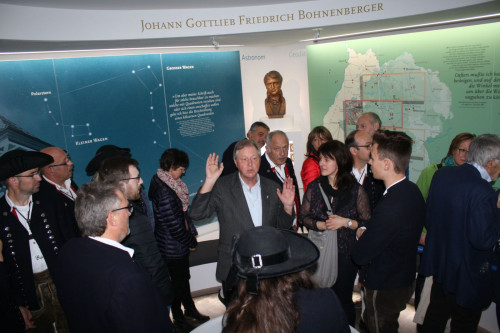 Einweihung der Bohnenberger-Gedenkstätte